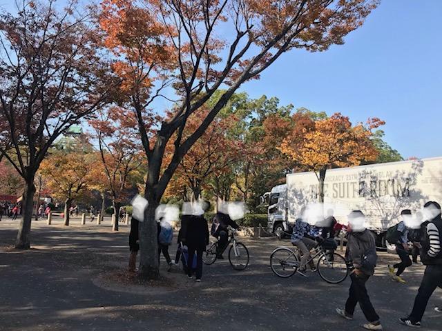 GLAYと大阪城
