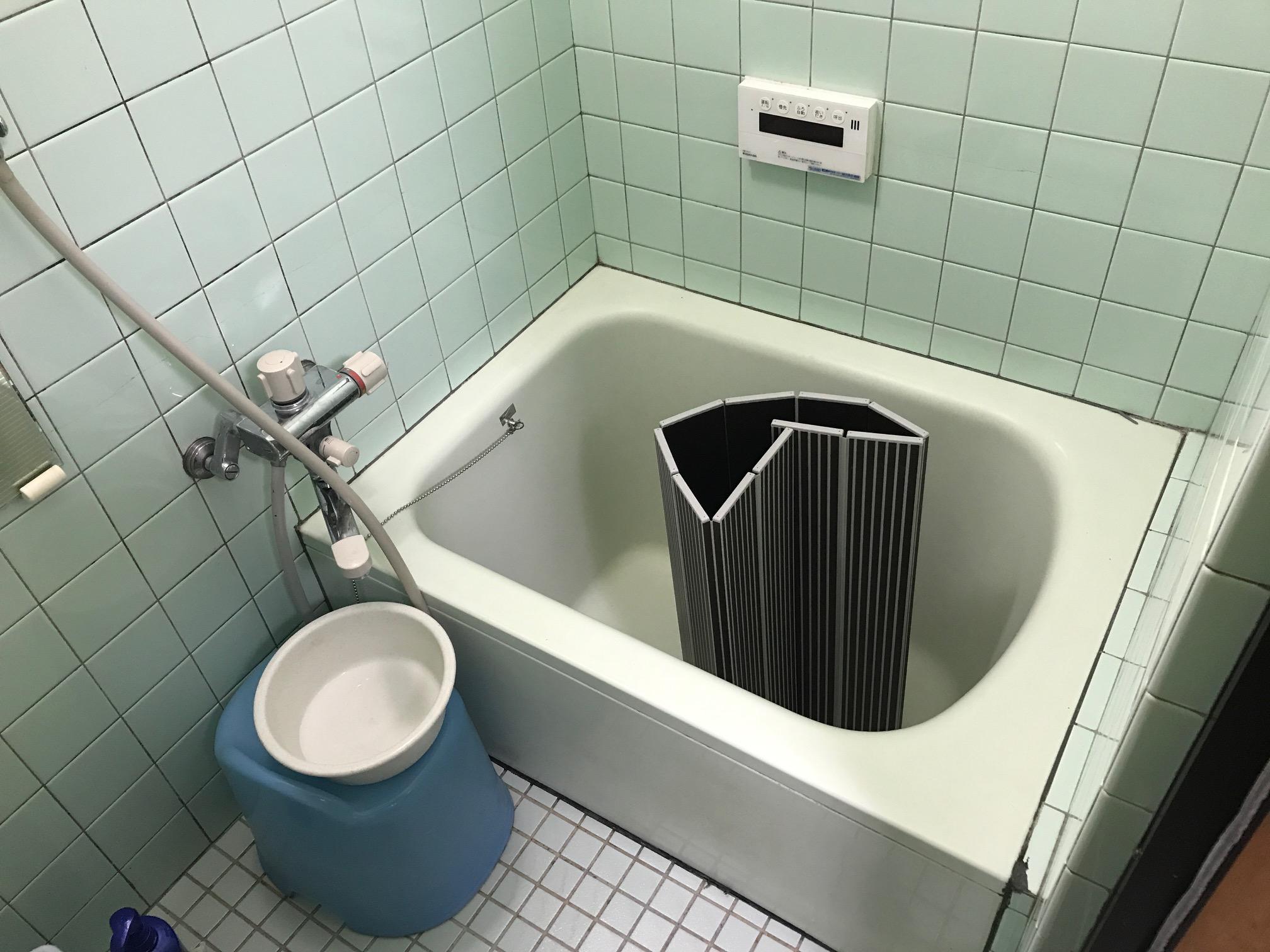 介護DIYお風呂