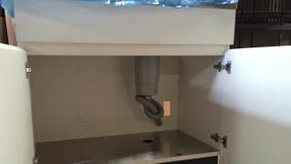 病院のステンレス天板ミニキッチン流し台オーダー製作事例