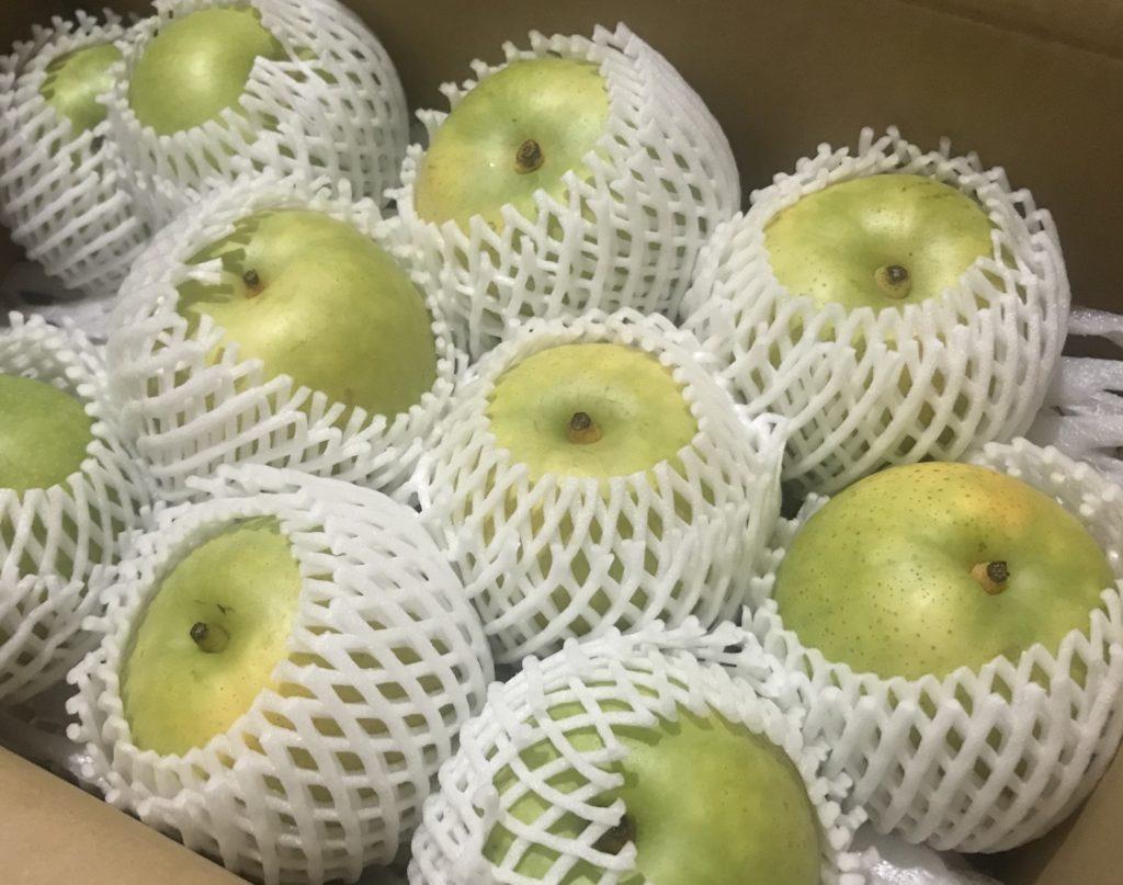 2020年も無事に21世紀梨が届きました&バタフライテーブル製作