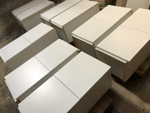 低圧メラミン化粧板吊戸棚