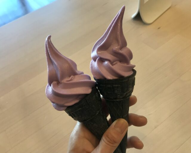 ikeaハロウィンソフトクリーム